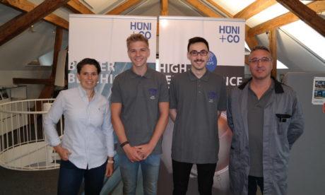 Ausbildungsstart bei HÜNI + CO