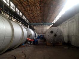 3 Grosstanks zur Beschichtung