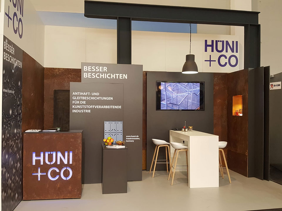 FAKUMA Friedrichshafen Messestand 2018